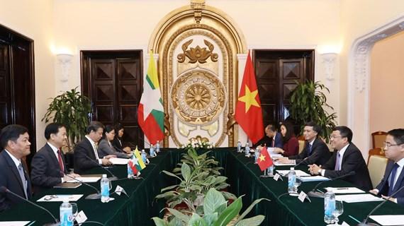 Coi trọng quan hệ Đối tác hợp tác toàn diện Việt Nam-Myanmar