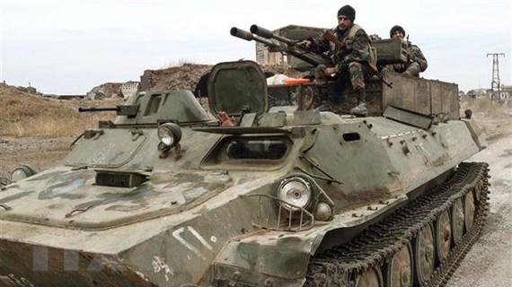 Phe nổi dậy tấn công cứ điểm quân đội Syria ở Idlib