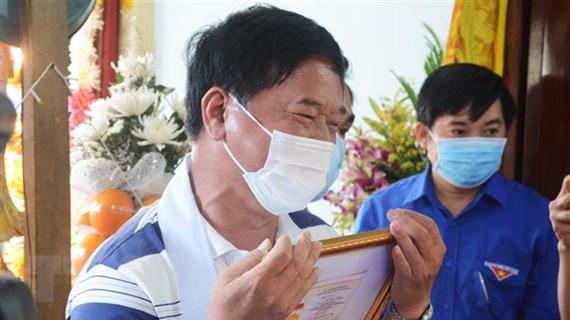 Truy tặng huy hiệu Tuổi trẻ dũng cảm cho Thượng sỹ hy sinh tại Đà Nẵng
