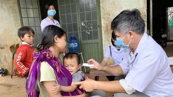 Gia Lai: Một làng có tới 13 trường hợp dương tính vi khuẩn bạch hầu