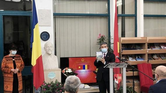 Tăng cường hợp tác kinh tế, giao lưu văn hóa Việt Nam-Romania
