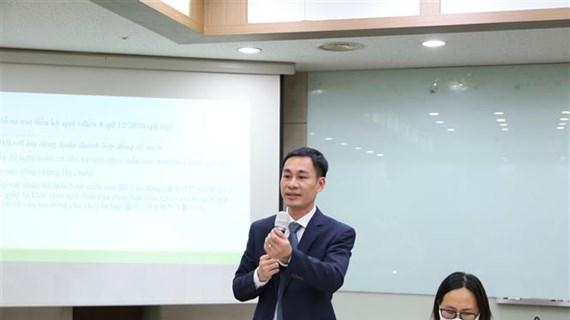 Phổ biến quy định mới đối với lao động Việt Nam tại Hàn Quốc