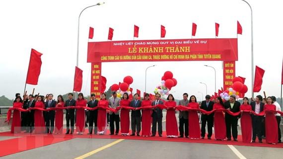 Khánh thành công trình cầu Bình Ca có kinh phí hơn 812 tỷ đồng