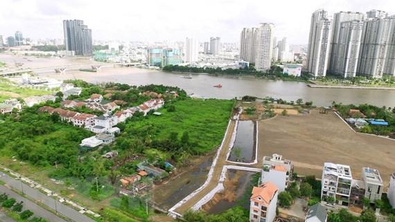 Điều chỉnh xây hạ tầng kỹ thuật trong khu đô thị mới Thủ Thiêm