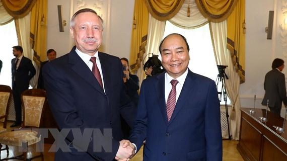 Thủ tướng Nguyễn Xuân Phúc thăm thành phố Saint Petersburg