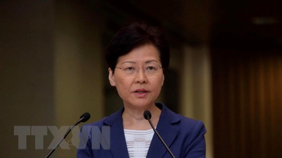 Trưởng Đặc khu Hành chính Hong Kong kêu gọi đối thoại