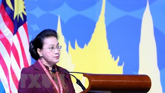 Chủ tịch Quốc hội phát biểu tại Phiên toàn thể Đại hội đồng AIPA 40