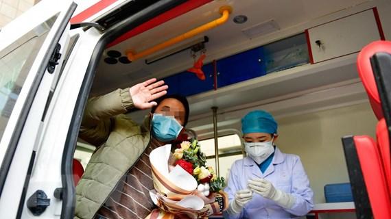Trung Quốc đạt tiến triển trong công tác chữa trị dịch COVID-19