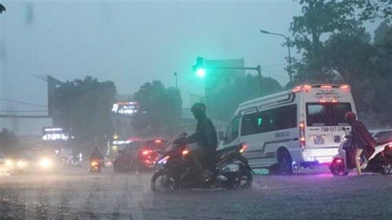 Đêm 19/9, nhiều vùng trên cả nước có mưa vừa đến mưa to