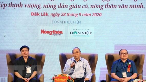 Thủ tướng đối thoại với nông dân miền Trung-Tây Nguyên