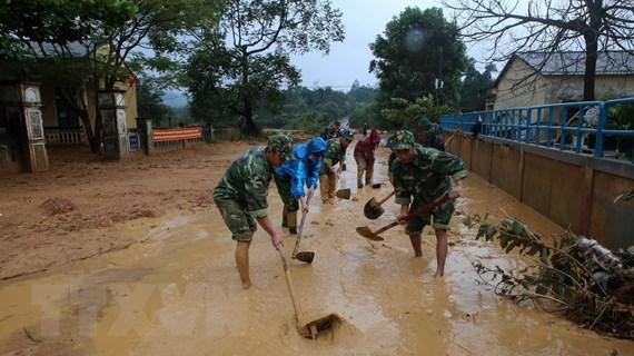 Bão số 9: Nước sông đang lên, nguy cơ xảy ra trận lũ thứ 5 ở Quảng Trị