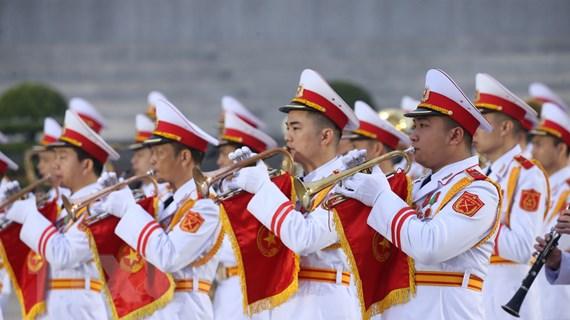 [Photo] Chương trình tổng duyệt Đại hội toàn quốc lần XIII của Đảng