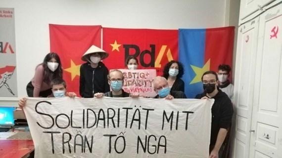 Đảng Lao động Thụy Sĩ bày tỏ sự đoàn kết với nạn nhân dioxin Việt Nam