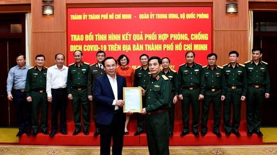 Quân đội đã ủng hộ, chi viện cho TP.HCM với trách nhiệm cao nhất