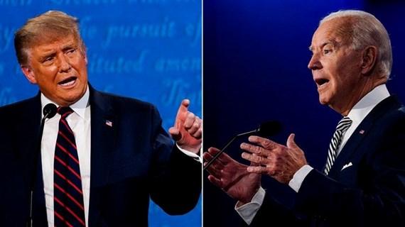 Trực tiếp cuộc tranh luận tay đôi cuối cùng giữa hai ông Trump-Biden
