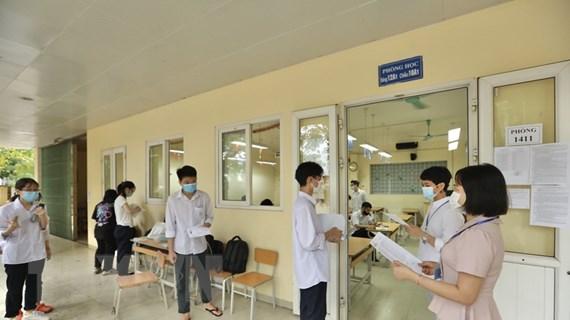 Hôm nay, gần 12.000 thí sinh làm thủ tục dự thi tốt nghiệp THPT