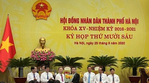 Tân Chủ tịch UBND Hà Nội Chu Ngọc Anh nói gì sau khi nhậm chức?