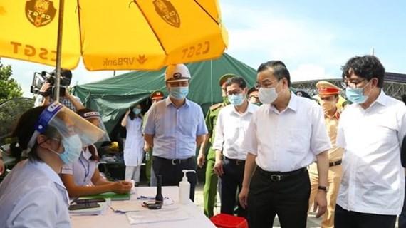 Chủ tịch Hà Nội: Cần hiểu đúng việc giãn cách để kiềm chế dịch bệnh