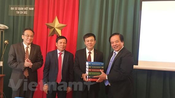 Chính thức ra mắt bộ Đại từ điển giáo khoa Séc-Việt hoàn chỉnh