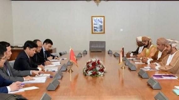 Thúc đẩy hơn nữa quan hệ hợp tác nhiều mặt giữa Việt Nam và Oman