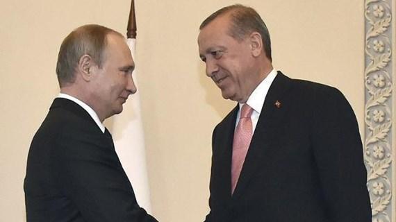 Tổng thống Thổ Nhĩ Kỳ Erdogan sẽ gặp Tổng thống Nga Putin tại Sochi
