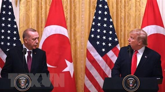 Tổng thống Thổ Nhĩ Kỳ: Đề xuất của Mỹ về S-400 vi phạm chủ quyền