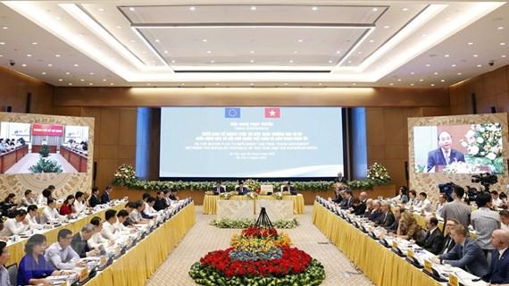 Thủ tướng: EVFTA như 'tuyến đường cao tốc lớn' nối gần EU với Việt Nam