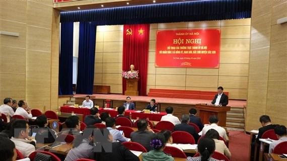 Hà Nội: Đối thoại gỡ vướng giải phóng mặt bằng bãi rác Nam Sơn