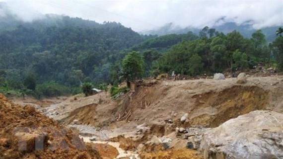 Tìm thấy 2 thi thể nạn nhân ở Trà Leng, thêm điểm sạt lở ở Trà Mai