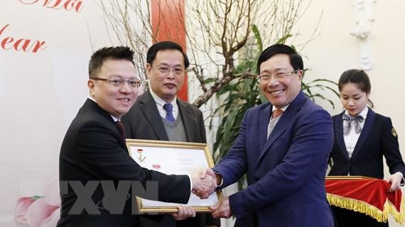 Bộ Ngoại giao gặp mặt các cơ quan báo chí nhân dịp Năm mới 2021