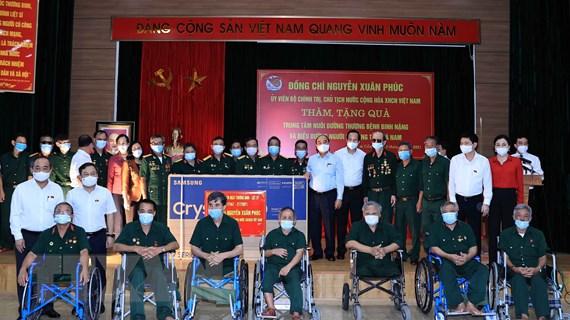 Thư của Chủ tịch nước nhân kỷ niệm 74 năm Ngày Thương binh, Liệt sỹ