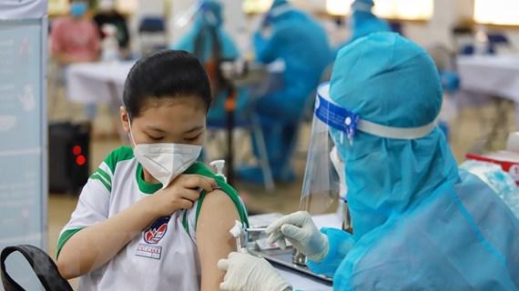 TP Hồ Chí Minh chính thức tiêm vaccine ngừa COVID-19 cho học sinh