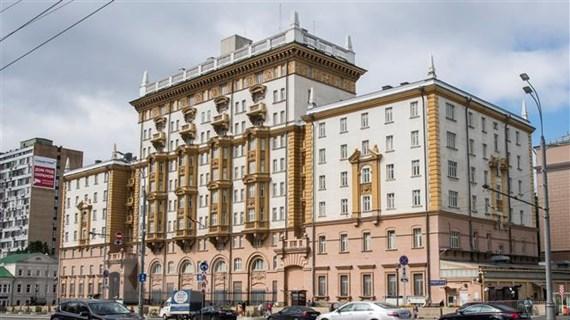 Đại sứ quán Mỹ tại Nga có nguy cơ ngừng hoạt động vào năm tới