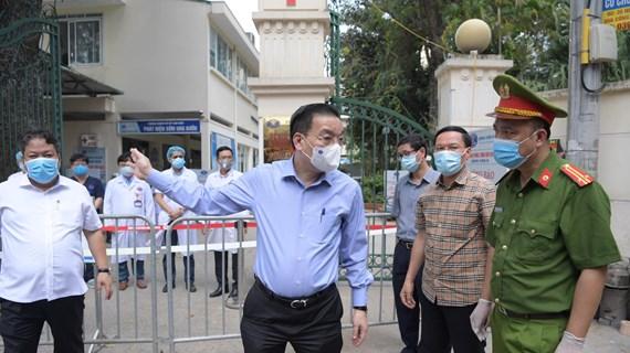 Chủ tịch Hà Nội: Khi cần thiết có thể phong tỏa diện hẹp