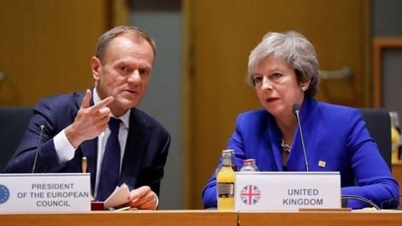 Chủ tịch EC: Anh chấp thuận kế hoạch lùi thời điểm Brexit