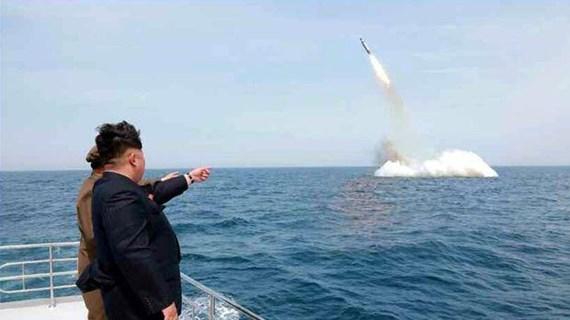 Vụ Triều Tiên phóng SLBM gây trở ngại cho đàm phán hạt nhân với Mỹ