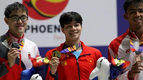 Ngày thi đấu với nhiều dấu mốc đáng nhớ của Đoàn thể thao Việt Nam