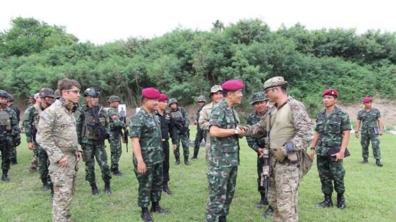 Hơn 100 binh sỹ Mỹ tới Thái Lan tham gia tập trận chung