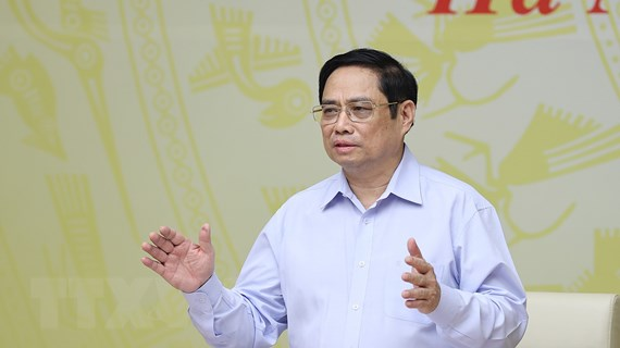 Thủ tướng chủ trì hội nghị trực tuyến với cộng đồng doanh nghiệp
