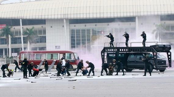 [Photo] Công an nhân dân trong sự nghiệp xây dựng, bảo vệ Tổ quốc