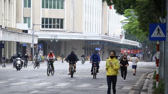 Cuộc sống của người Hà Nội trong ngày đầu thực hiện giãn cách xã hội