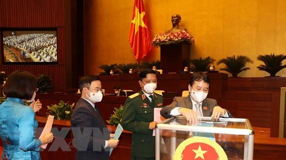 Quốc hội phê chuẩn tái bổ nhiệm 4 Phó Thủ tướng Chính phủ
