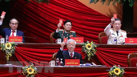 Những hình ảnh cập nhật về Phiên họp trù bị Đại hội Đảng XIII
