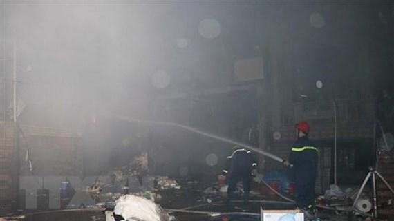 Bắc Ninh: Cháy kho chứa của công ty chuyên sản xuất giấy vệ sinh