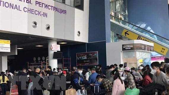 Đưa hơn 270 công dân Việt Nam từ Liên bang Nga về nước