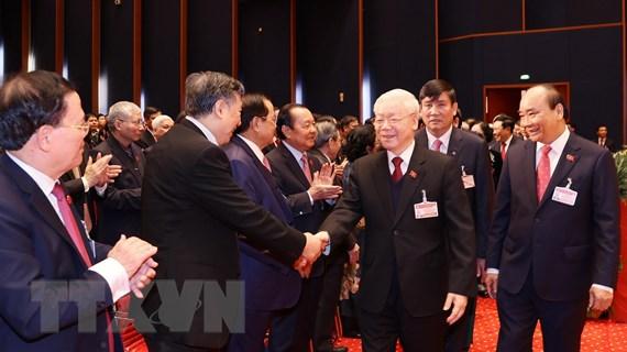 Lãnh đạo Đảng, Nhà nước dự khai mạc Đại hội XIII của Đảng