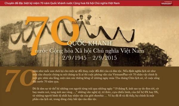 Bao Dien tu VietnamPlus doat giai B Giai Bao chi Quoc gia 2015 hinh anh 1