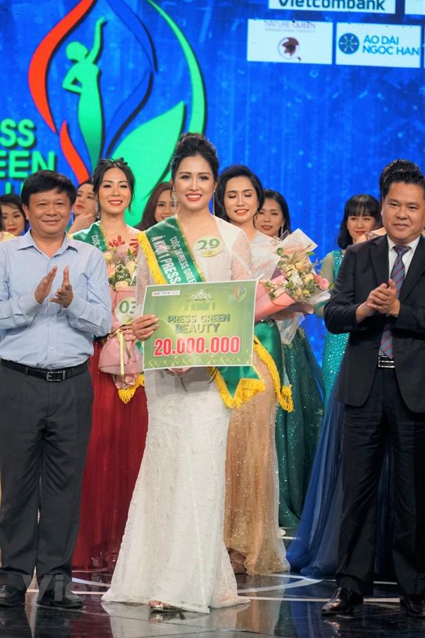 Dai dien VTV doat danh hieu Hoa khoi Press Green Beauty 2019 hinh anh 2