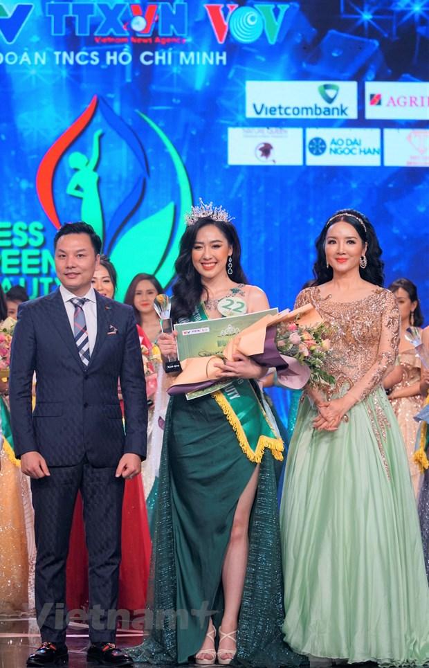 Dai dien VTV doat danh hieu Hoa khoi Press Green Beauty 2019 hinh anh 1