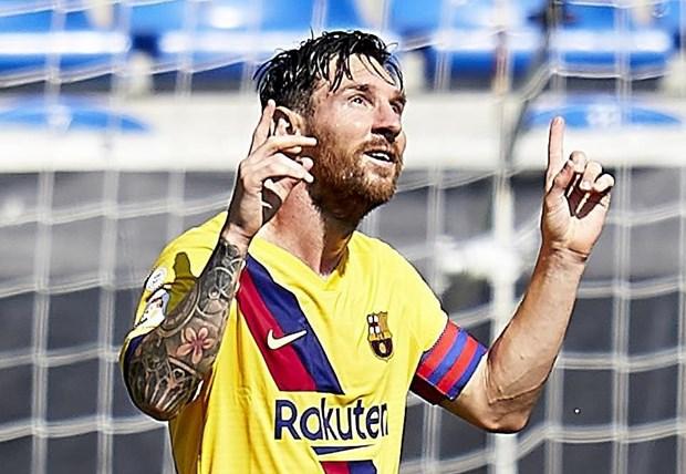 Lionel Messi gianh danh hieu Pichichi, di vao lich su La Liga hinh anh 1